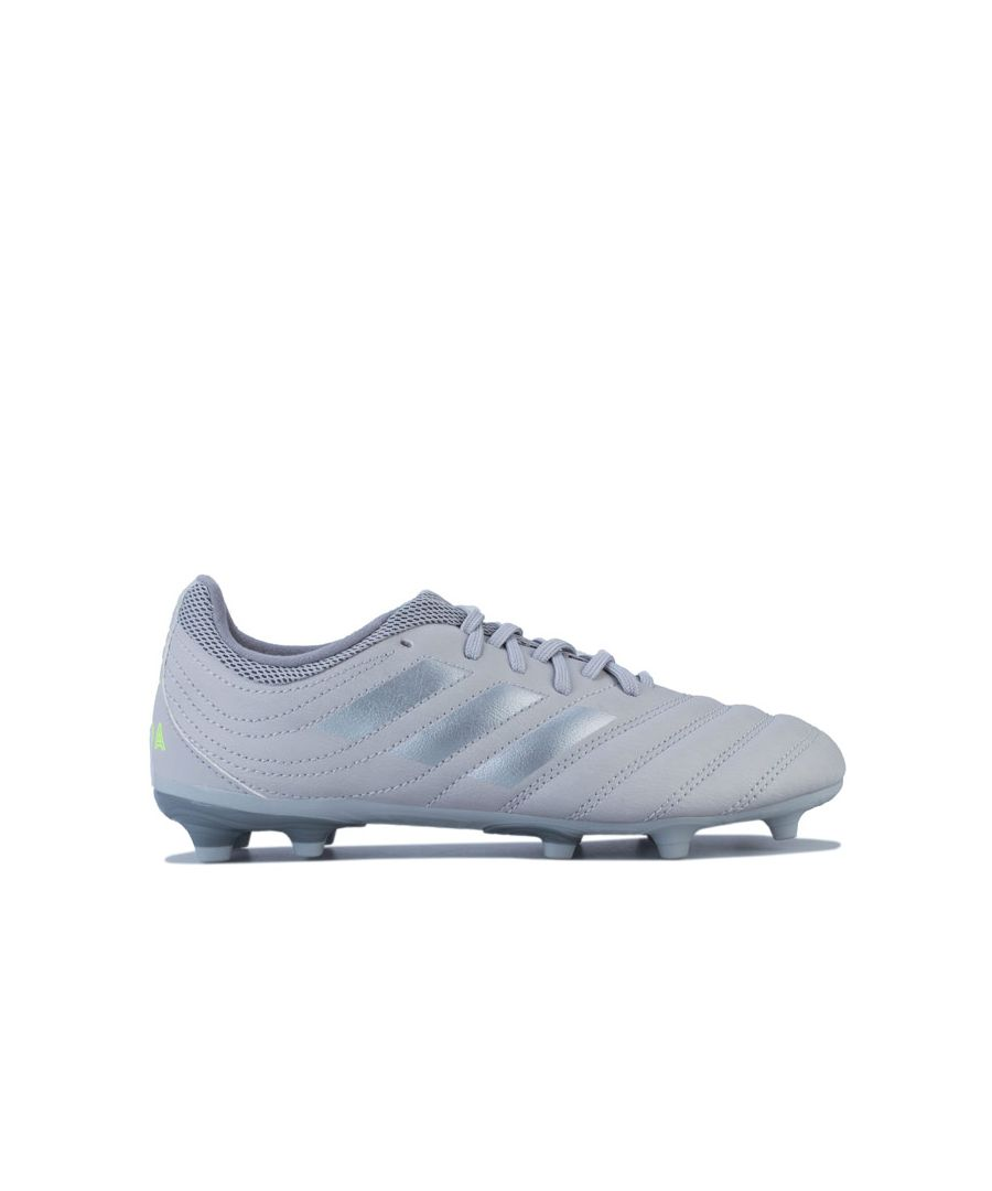 Image for Boy's adidas Junior Copa 20.3 Football Boots in Grey