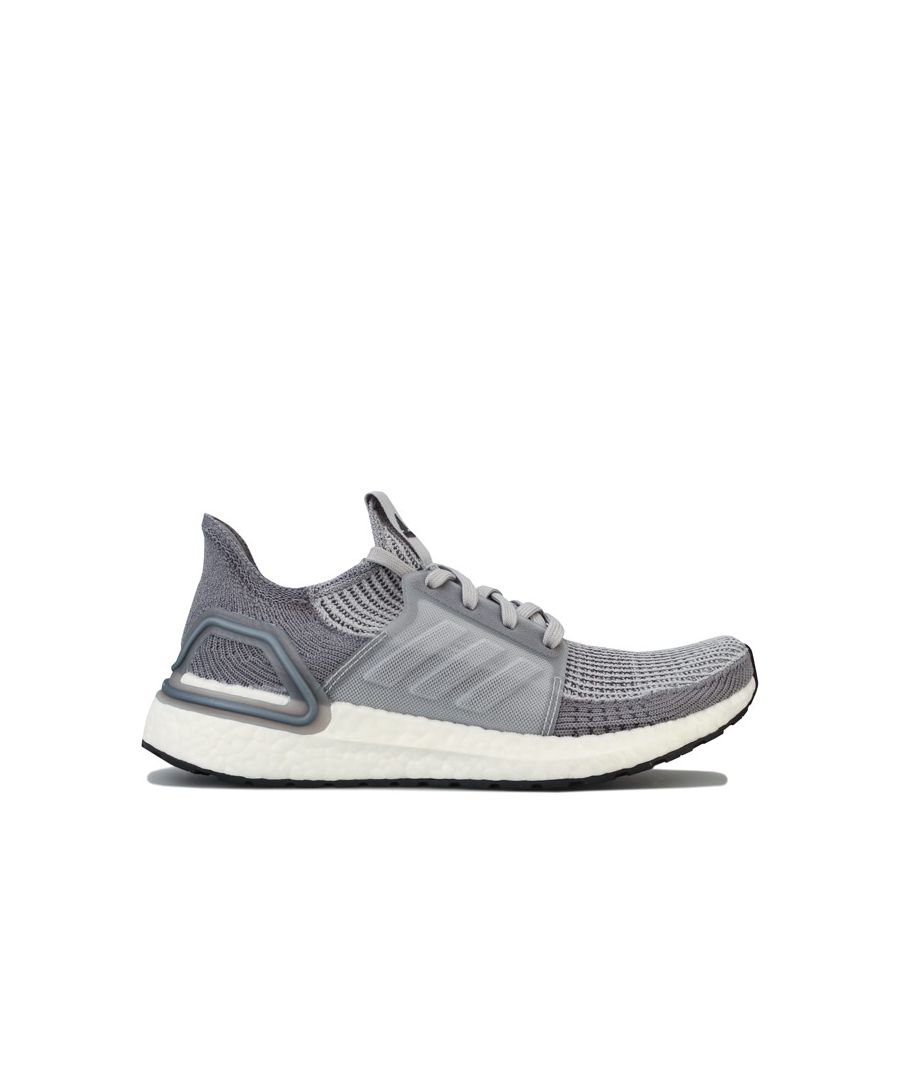 Image for Women's adidas Ultraboost 19 Running Shoes in Grey