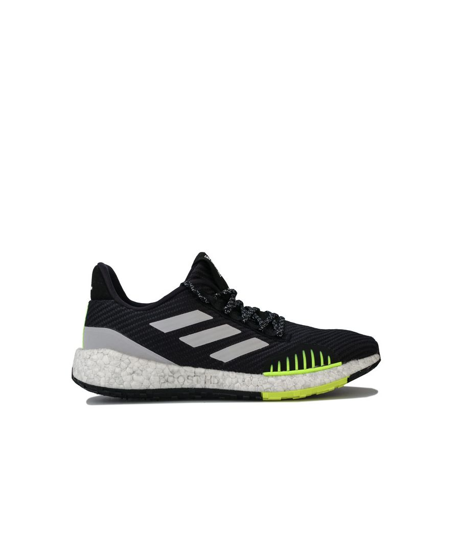 Image for Men's adidas Pulseboost Winter Trainers in Black Grey
