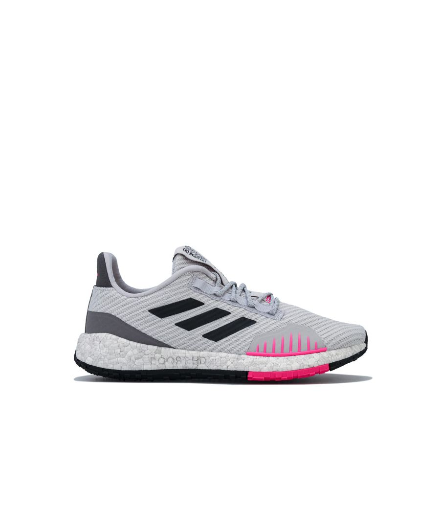 Image for Women's adidas PulseBOOST HD Winter Running Shoes in Light Grey
