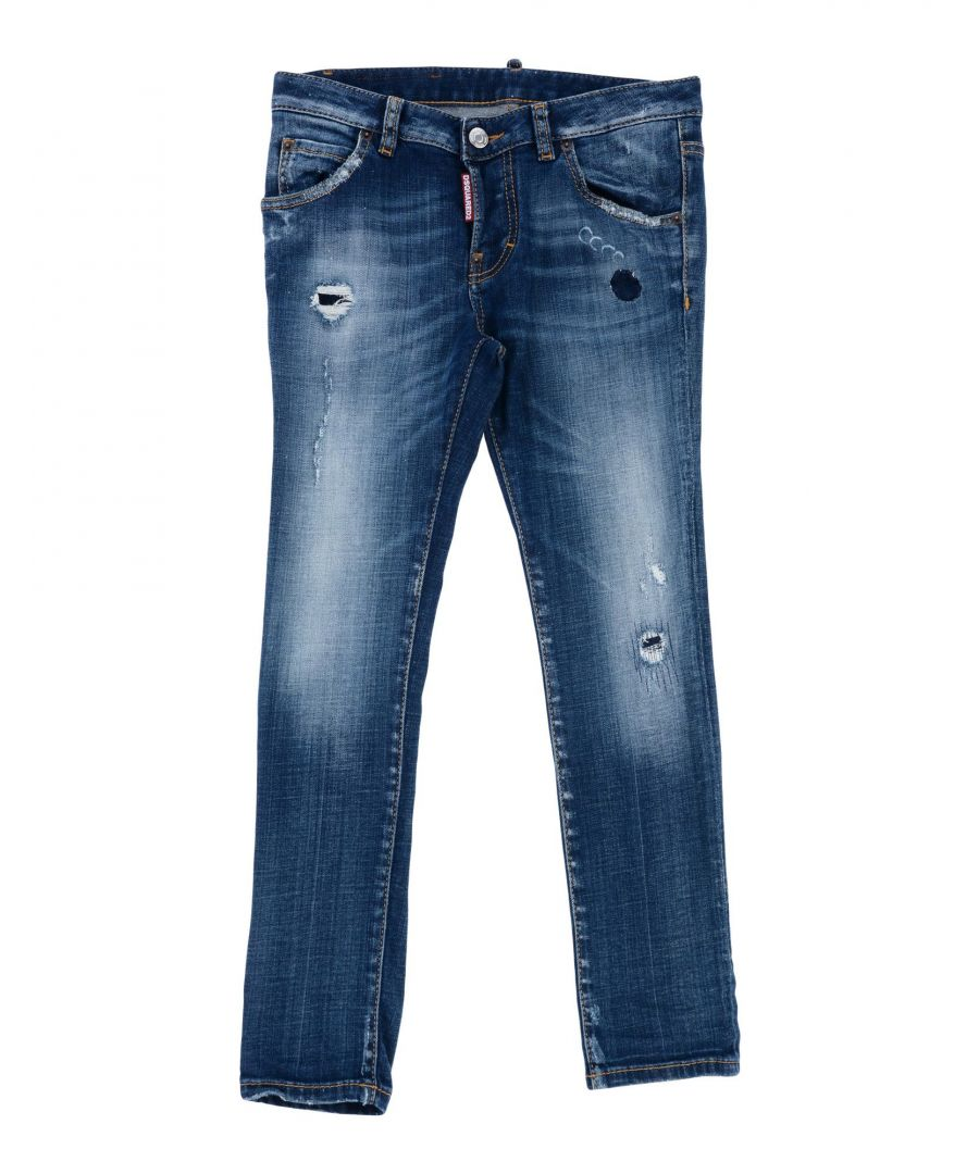 Image for Dsquared2 Girl Denim trousers Cotton