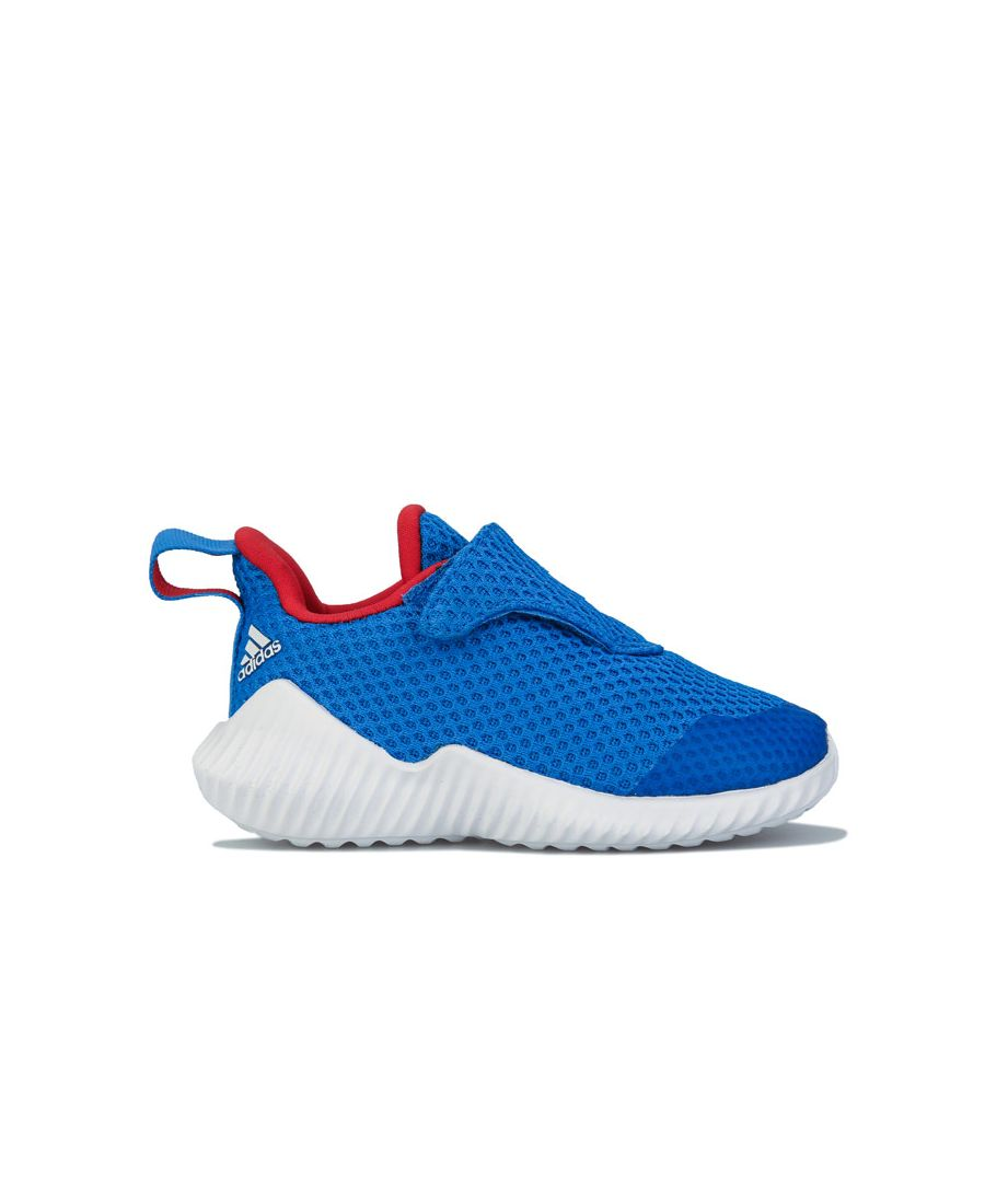 Image for Boy's adidas Infant FortaRun Trainers in Blue-White