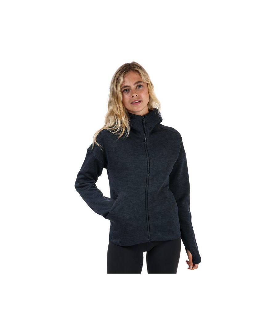 Image for Women's adidas Z.N.E. Fast Release Zip Hoodie in Navy