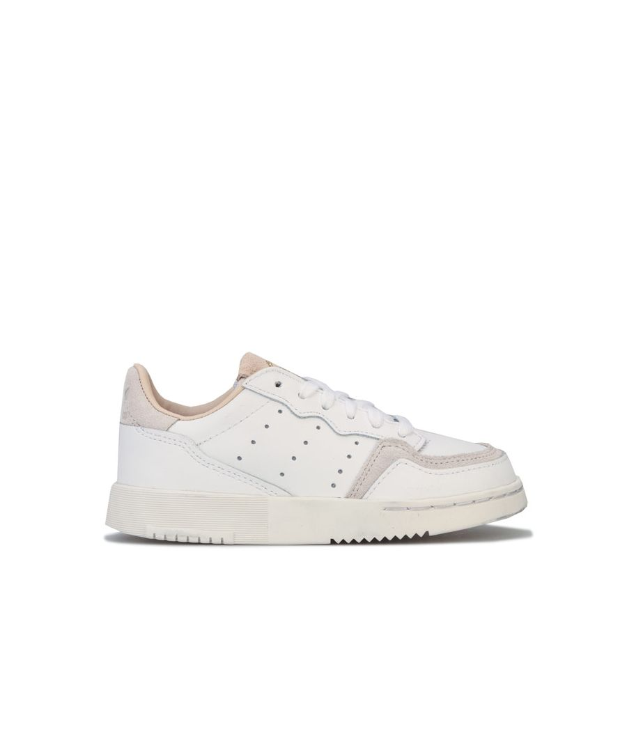 Image for Boy's adidas Originals Children Supercourt Trainers in White