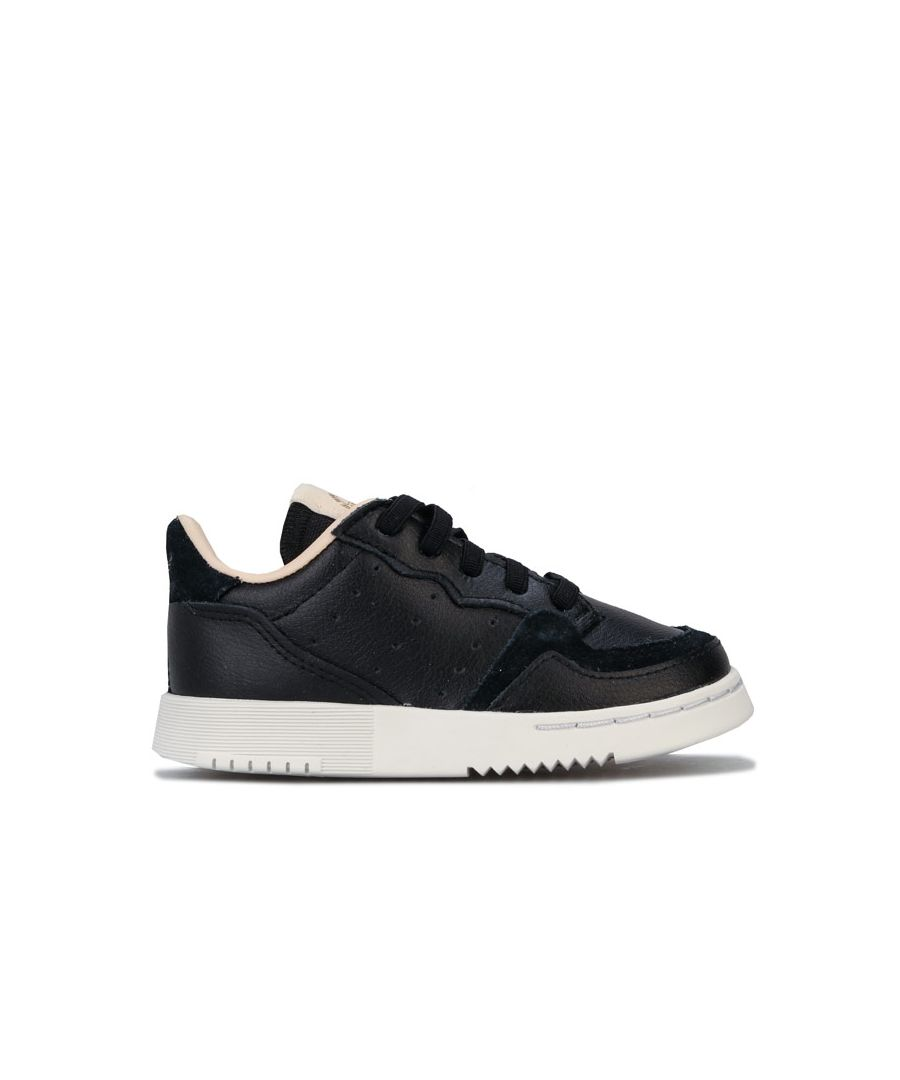 Image for Boy's adidas Originals Infant Supercourt Trainers in Black
