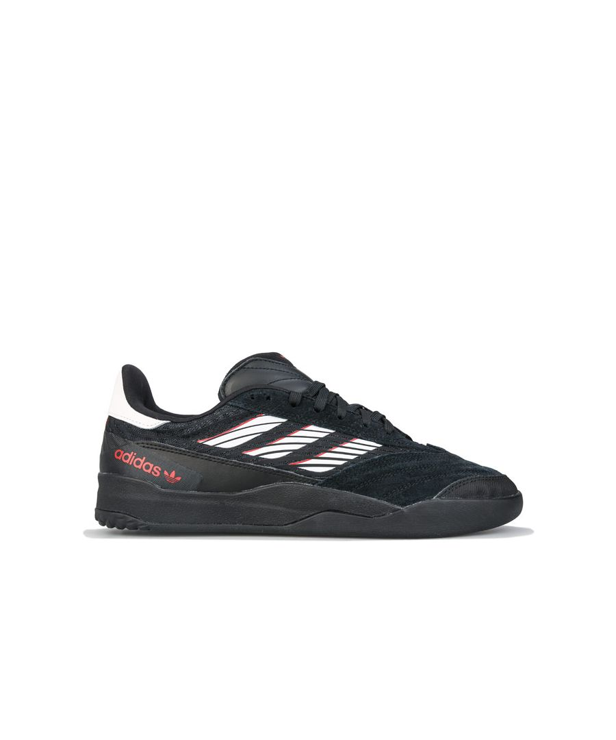 Image for Men's adidas Originals Copa Nationale Trainers Black white red UK 7in Black white red