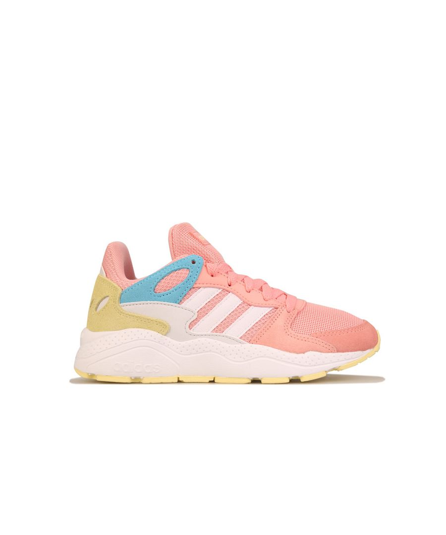 Image for Girl's adidas Junior Crazychaos Trainers Pink white UK 3in Pink white