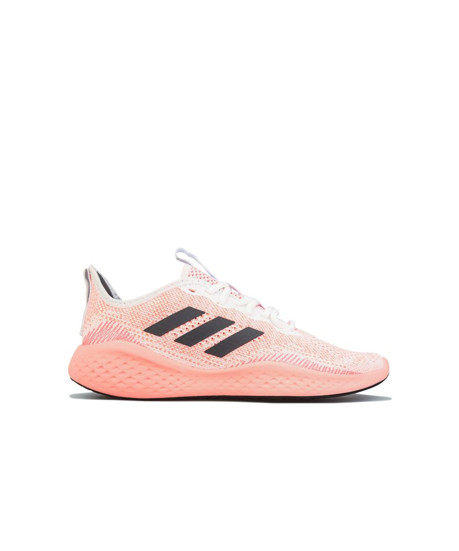Image for Women's adidas Fluidflow Running Shoes Coral UK 3.5in Coral