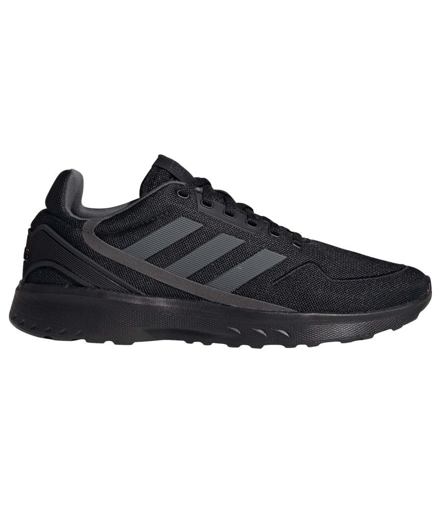 Image for adidas Nebzed Mens Trainer Black - UK 10.5