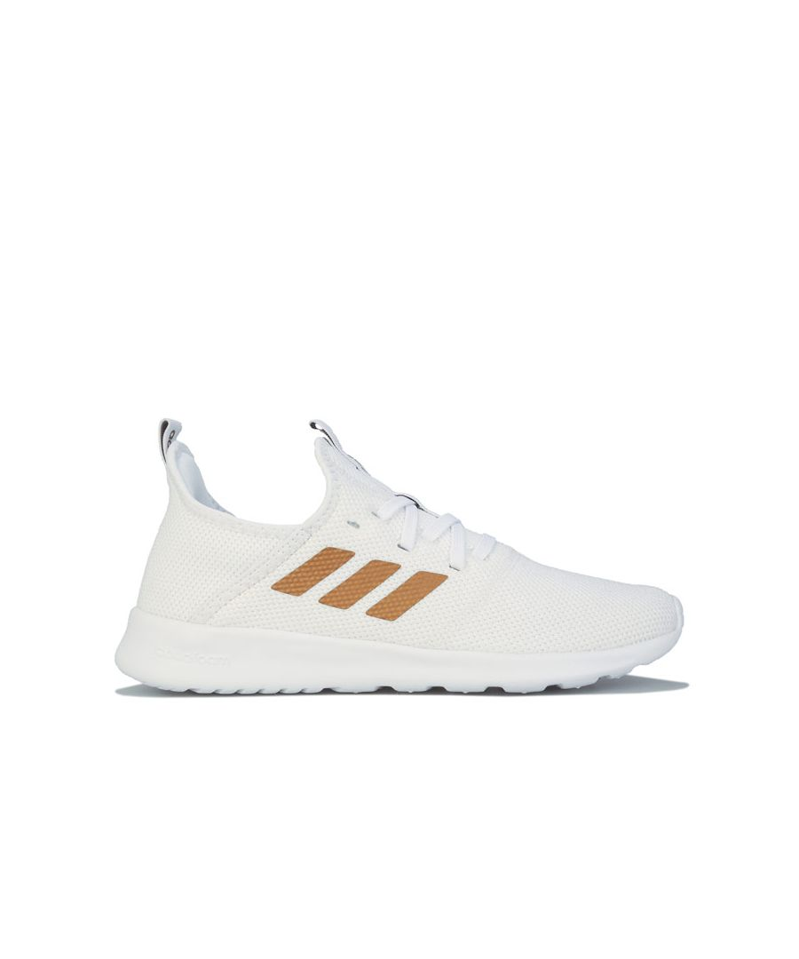 Image for Women's adidas Cloudfoam Pure Trainers in White gold