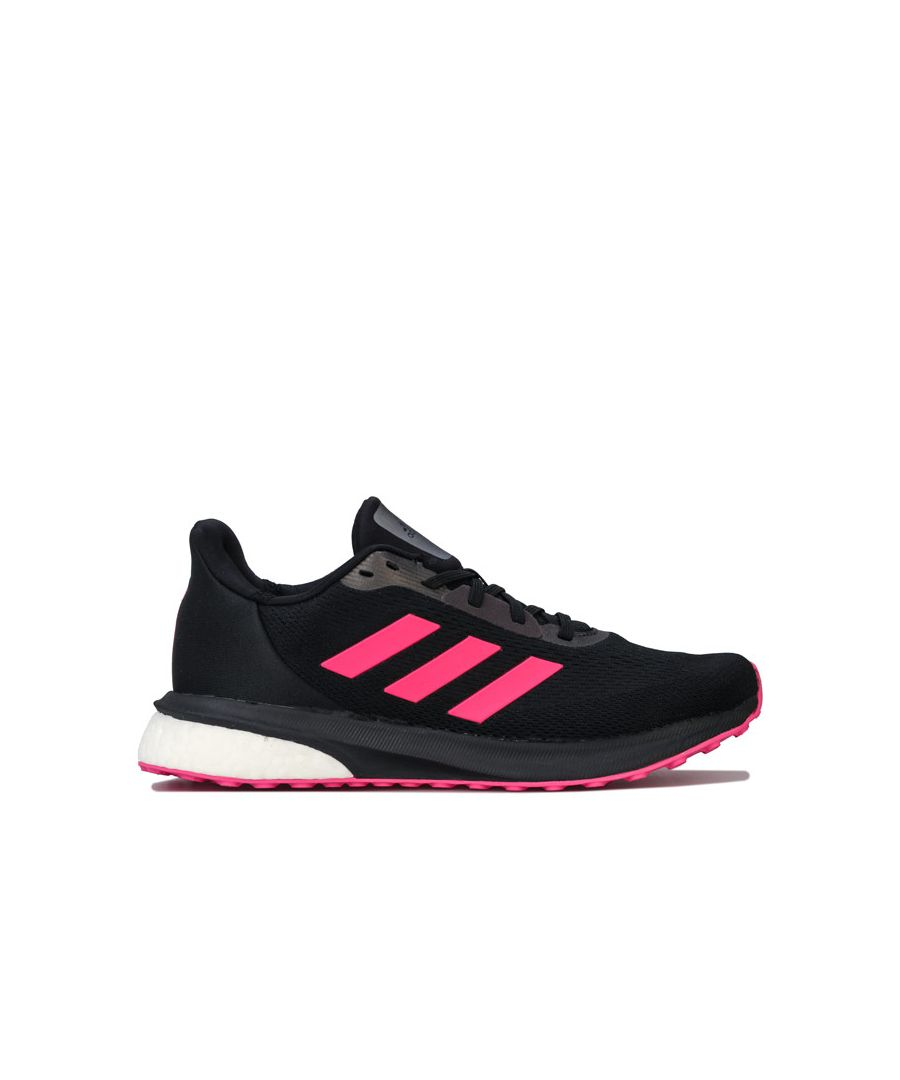 Image for Women's adidas Astrarun Running Shoes in black pink