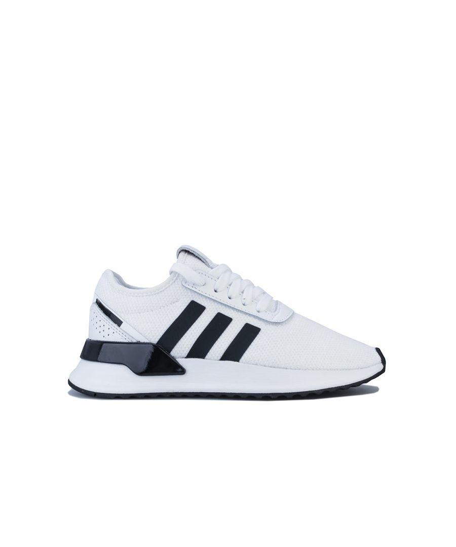 Image for Boy's adidas Originals Junior U Path X Trainers in White