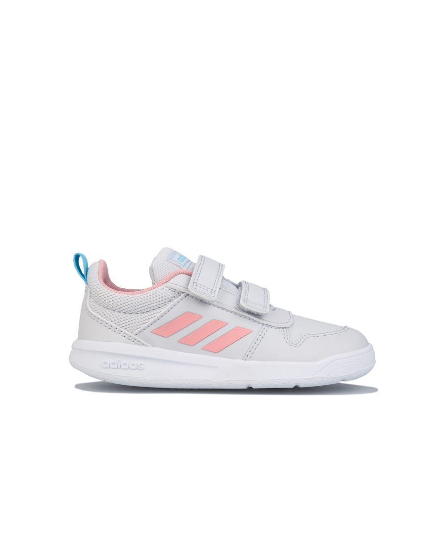Image for Girl's adidas Infant Tensaurus Trainers Grey pink 4 infantin Grey pink