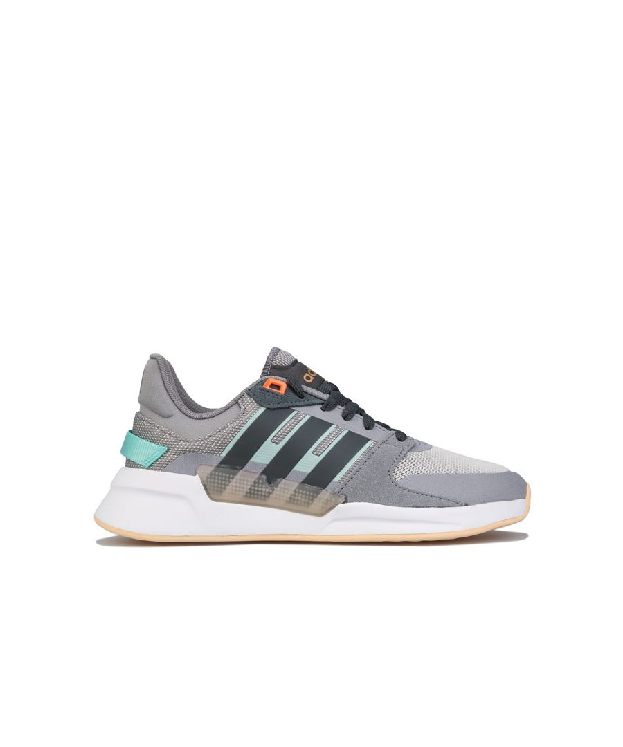 Image for Women's adidas Run 90s Trainers Grey UK 4in Grey