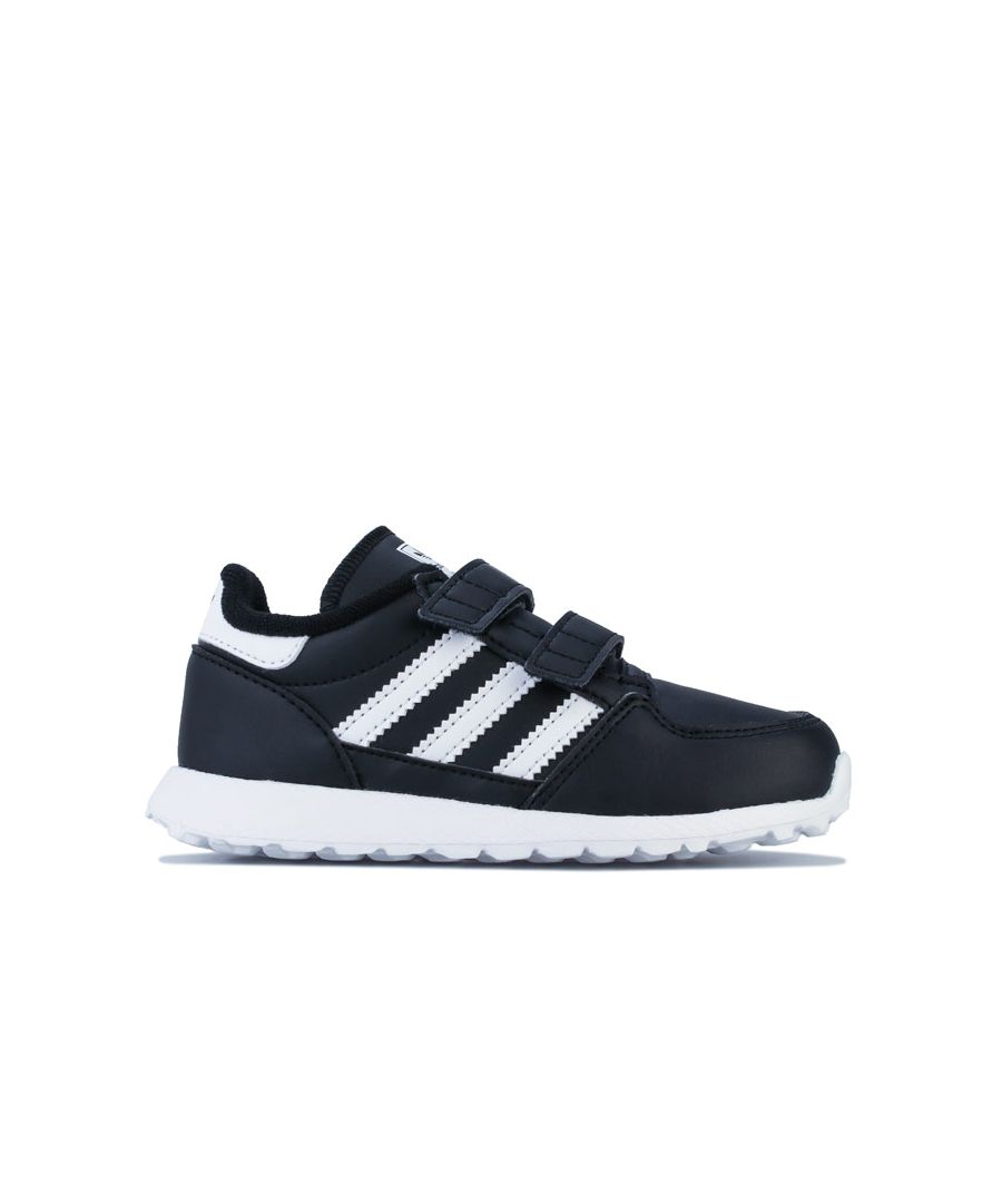 Image for Boy's adidas Originals Infant Forest Grove Trainers in Black-White