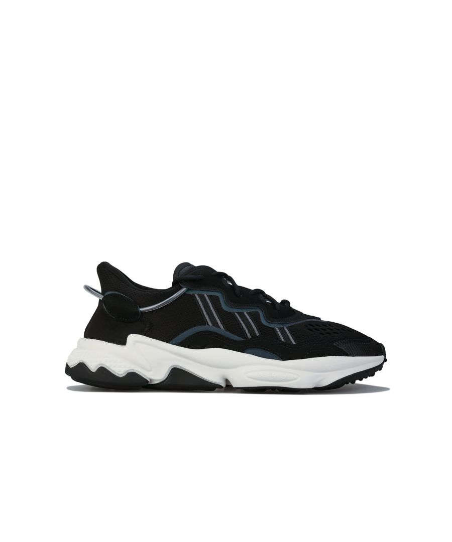 Image for Men's adidas Originals Ozweego Trainers in Black