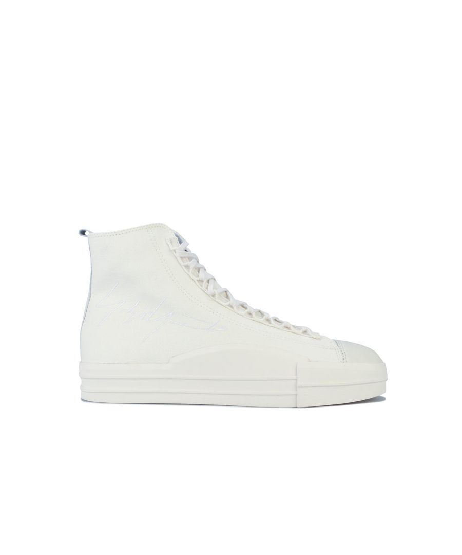 Image for Men's Y-3 Yuben Mid Trainers in White