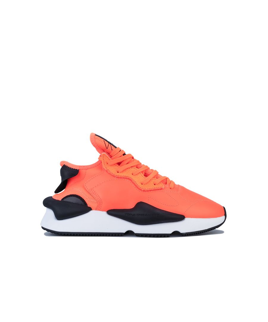 Image for Men's Y-3 Kaiwa Trainers in Orange