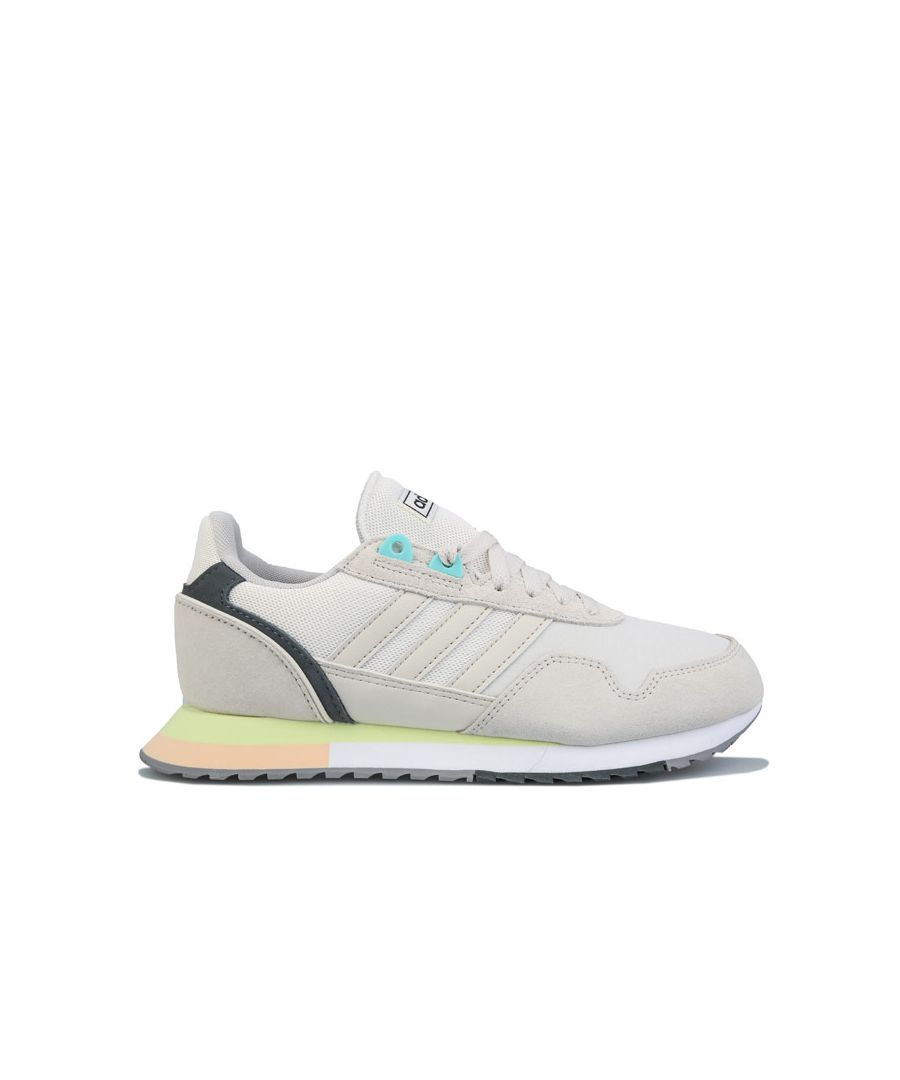 Image for Women's adidas 8K 2020 Trainers in Chalk