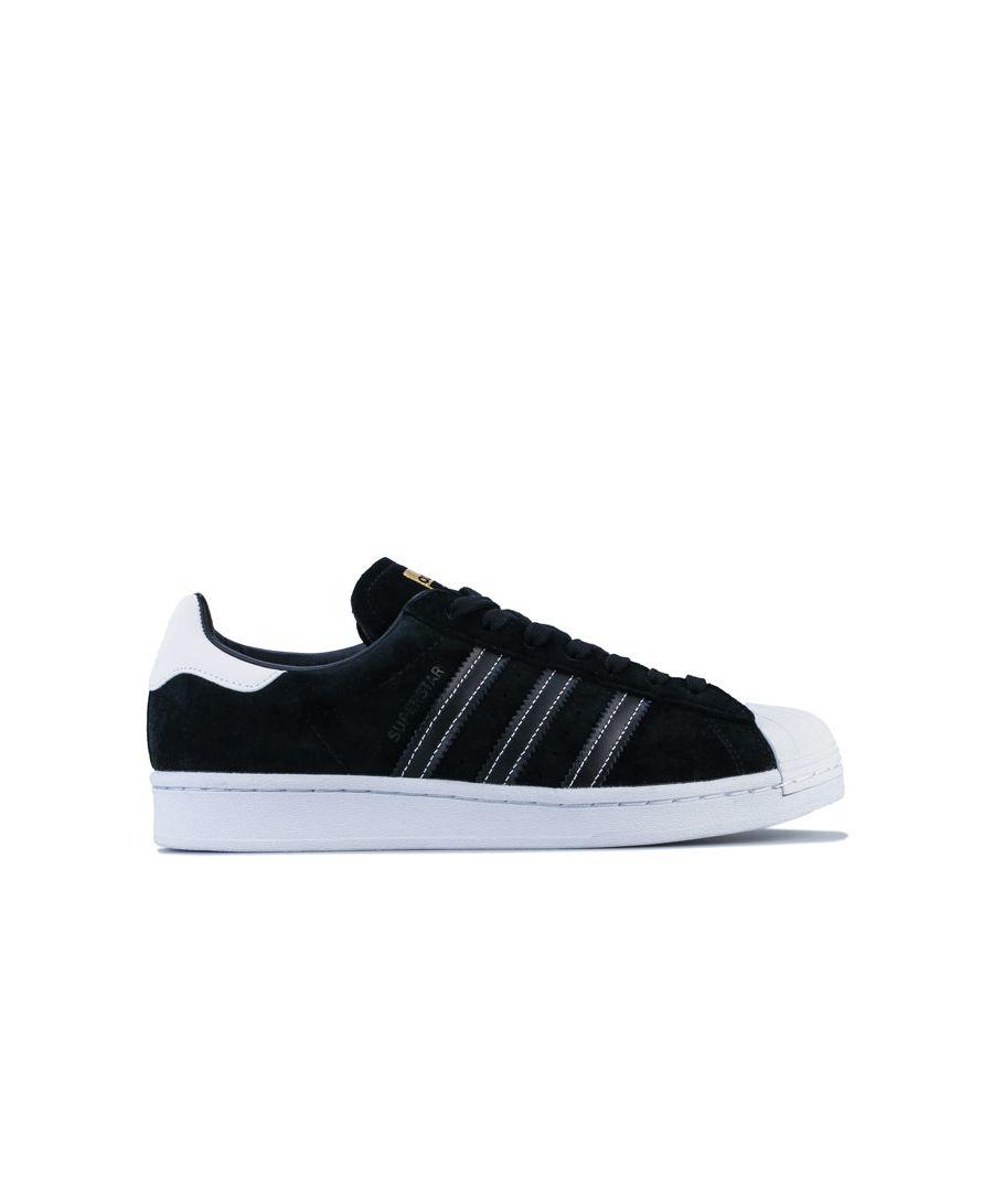 Image for adidas Originals Superstar Trainers in Black