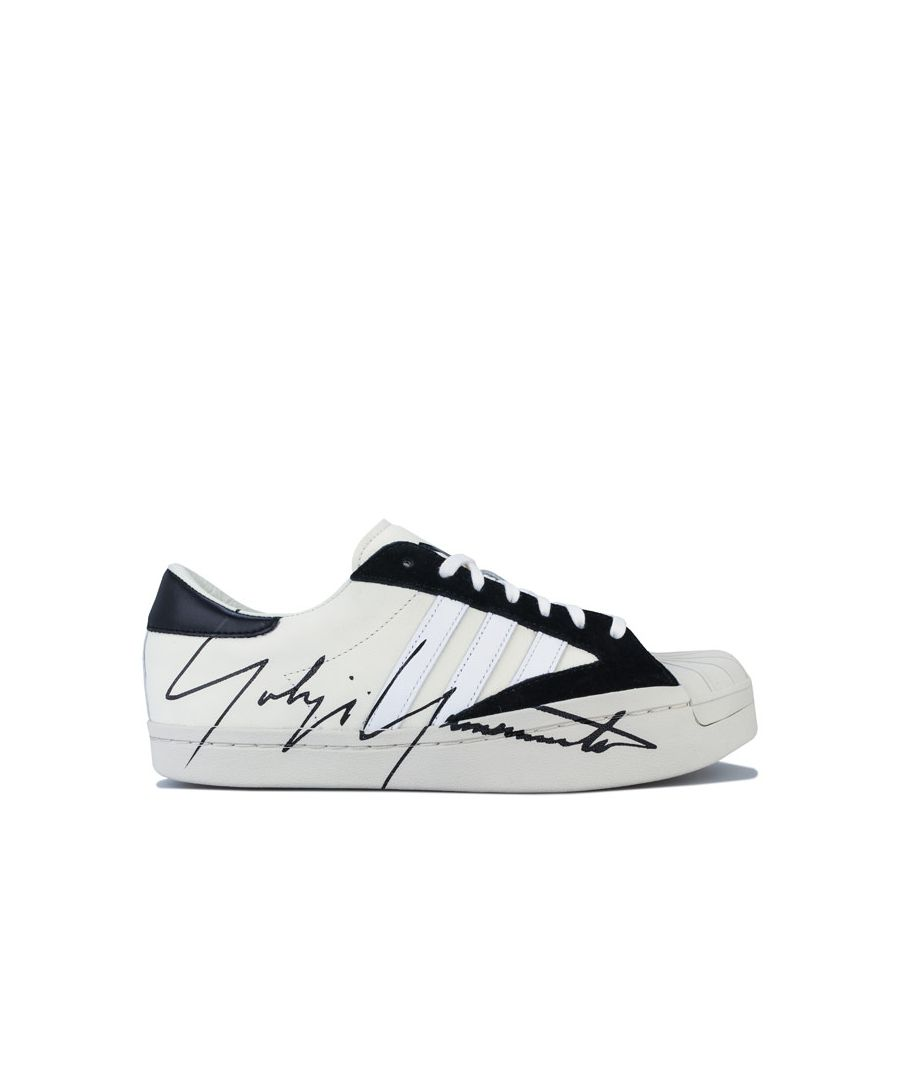 Image for Men's Y-3 Yohji Star Trainers in White Black