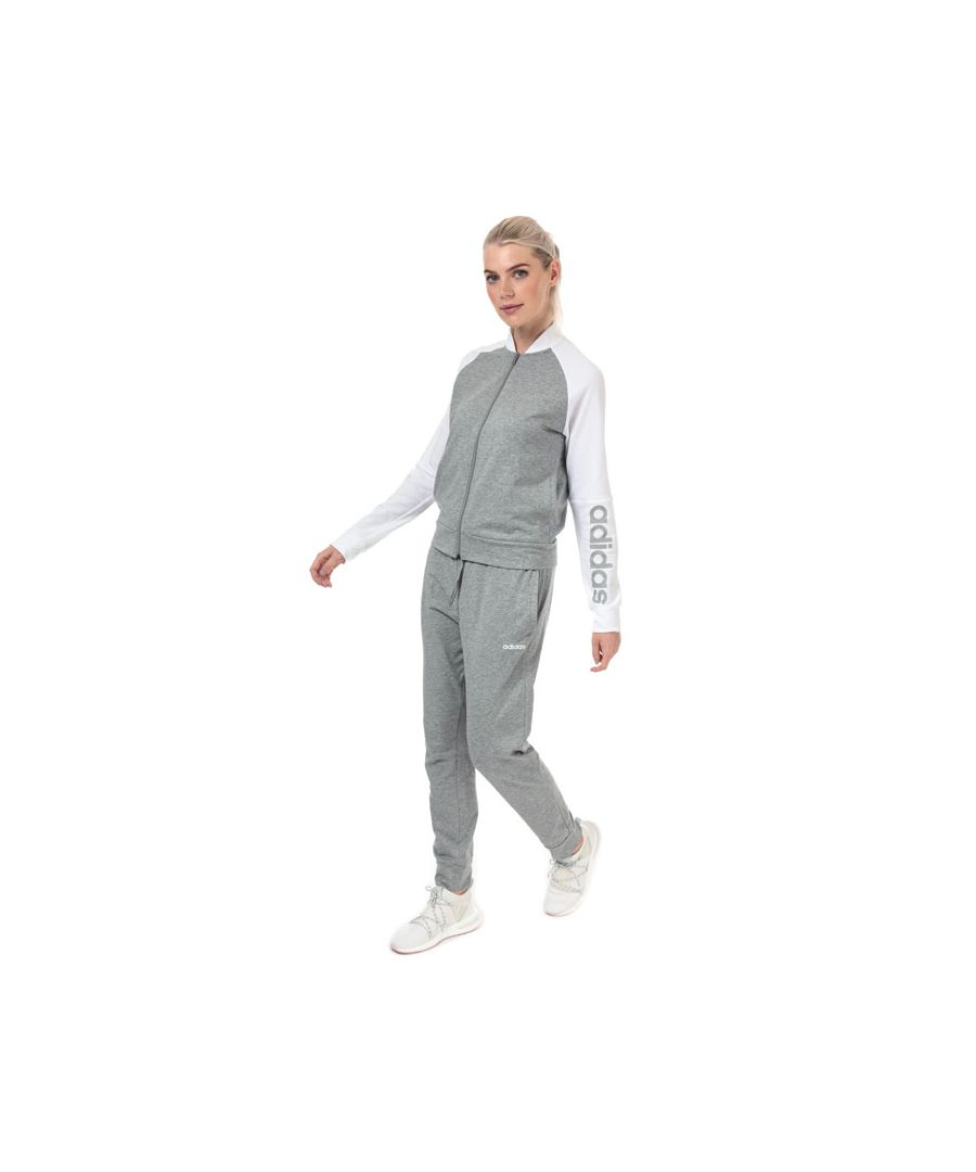 Image for Women's adidas Tracksuit in Grey Marl