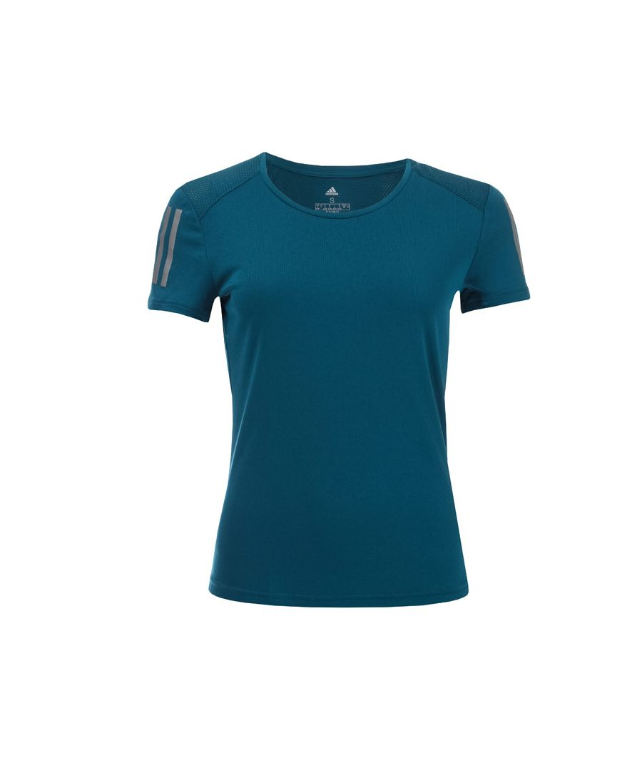 Image for Women's adidas Own The Run T-Shirt in Blue