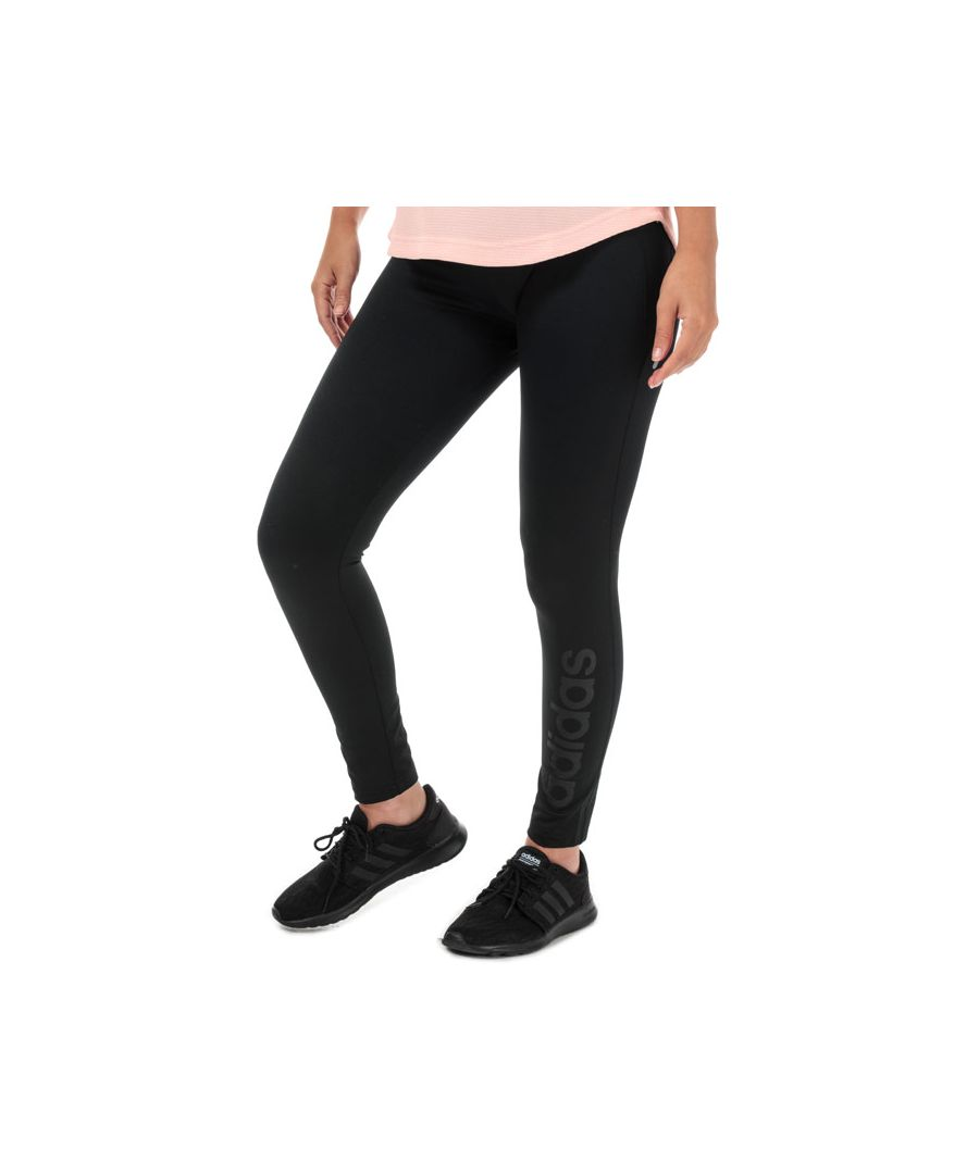 Image for Women's adidas Gear Up Climawarm Long Tights in Black
