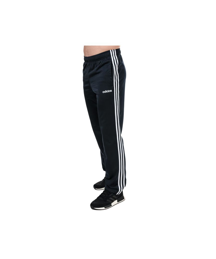 Image for Men's adidas 3-Stripes Jog Pants in Navy-White