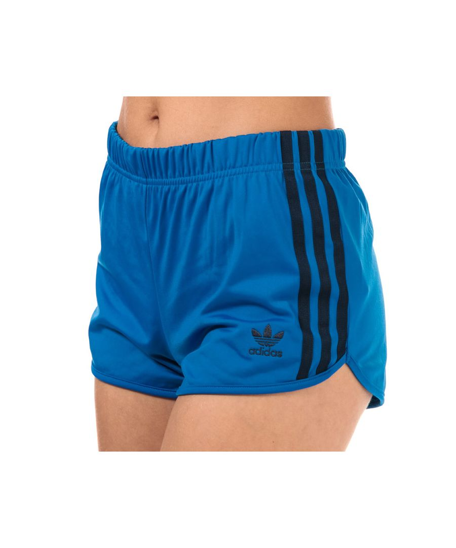 Image for Women's adidas Originals 3-Stripes Shorts in Blue