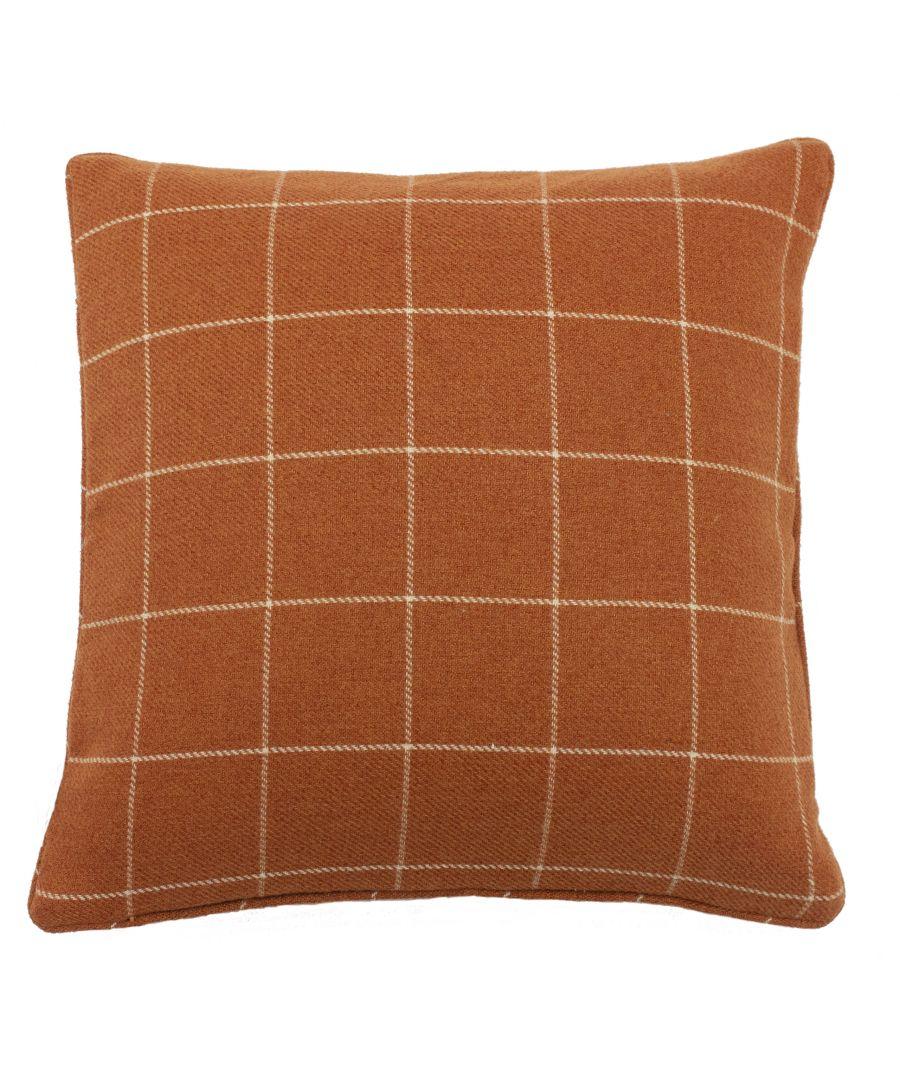 Image for Ellis 45X45 Poly Cushion B/Orange
