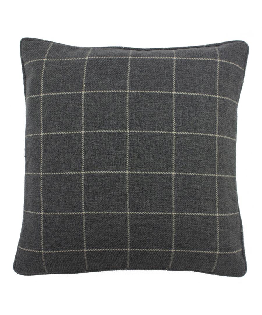 Image for Ellis 45X45 Poly Cushion Grey