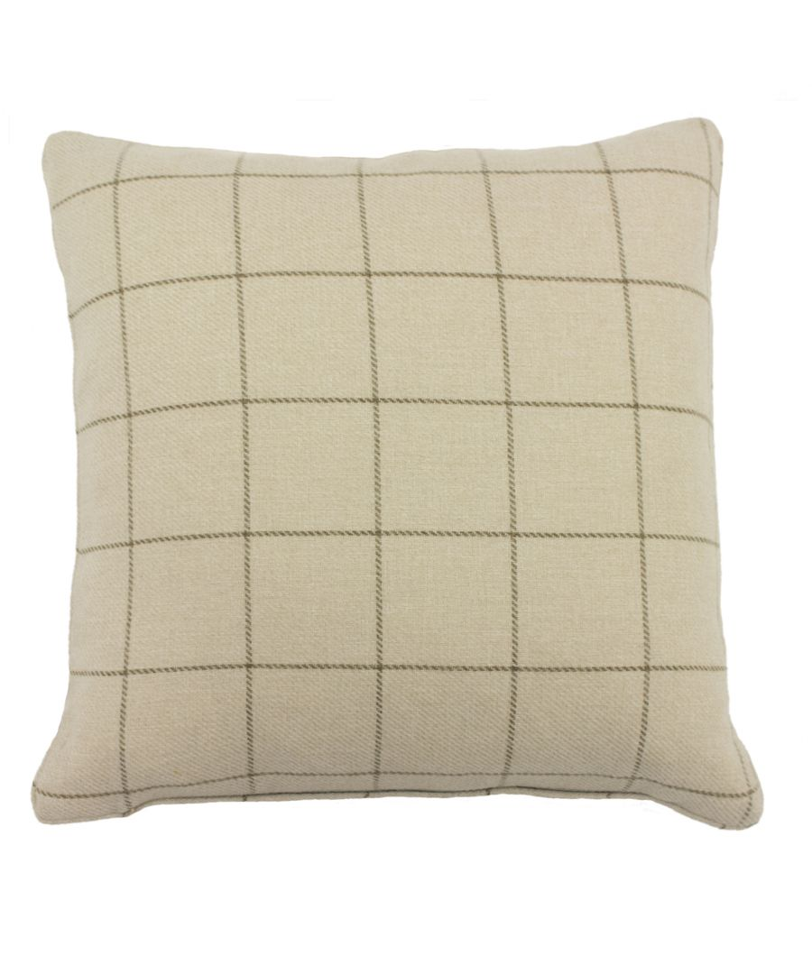 Image for Ellis 45X45 Poly Cushion Natural