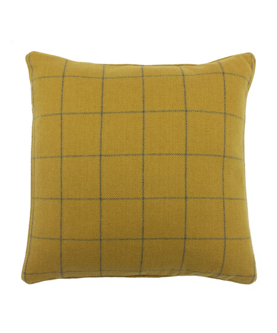 Image for Ellis 45X45 Poly Cushion Ochre
