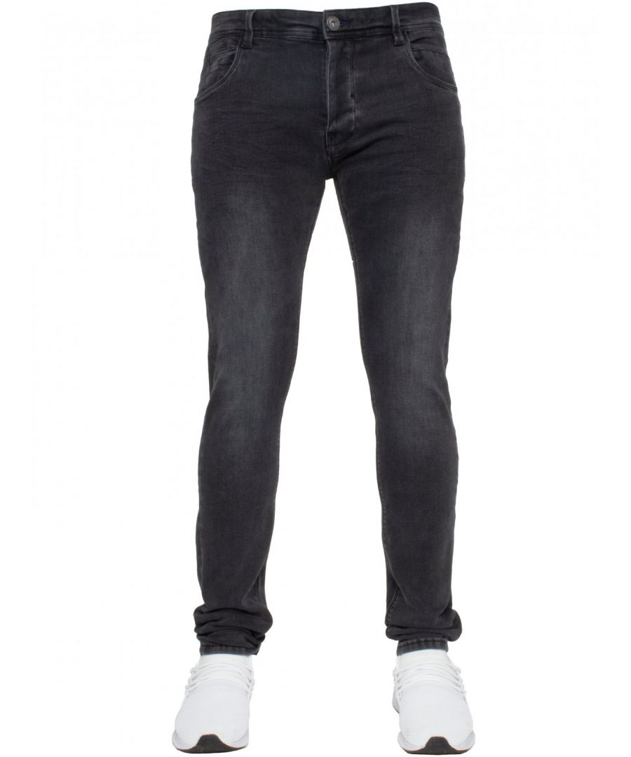 Image for ETO | Mens Designer Basic Hyperstretch Blue Jeans