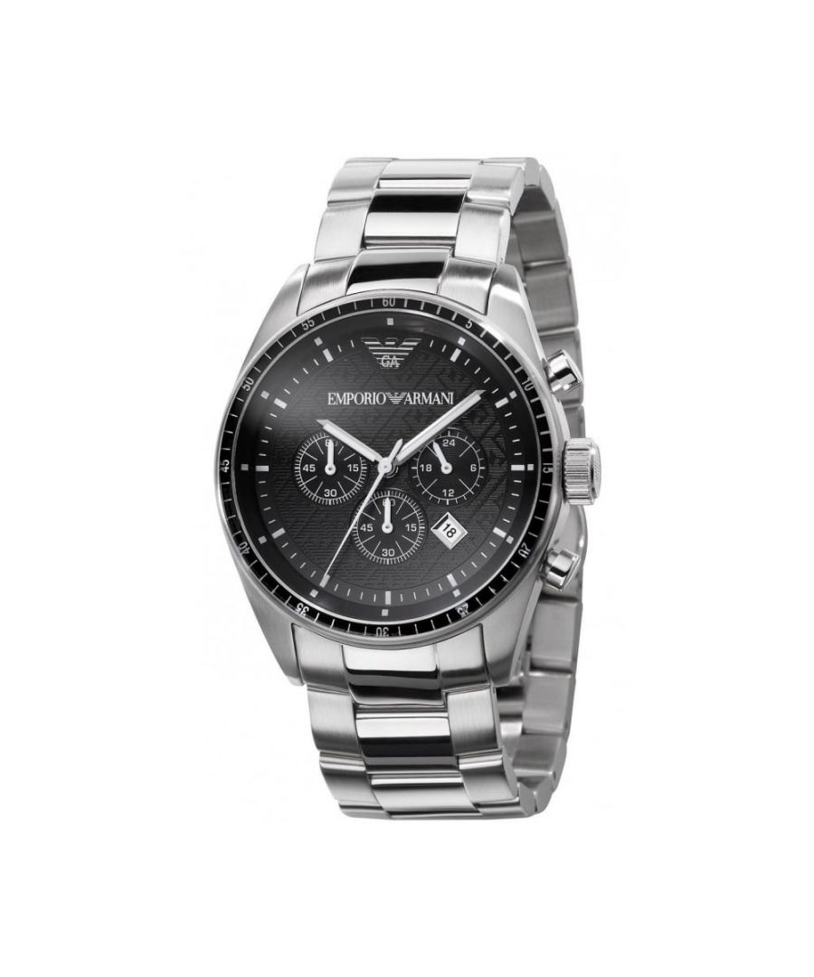 Image for Emporio Armani Mens' Chronograph Watch AR0585