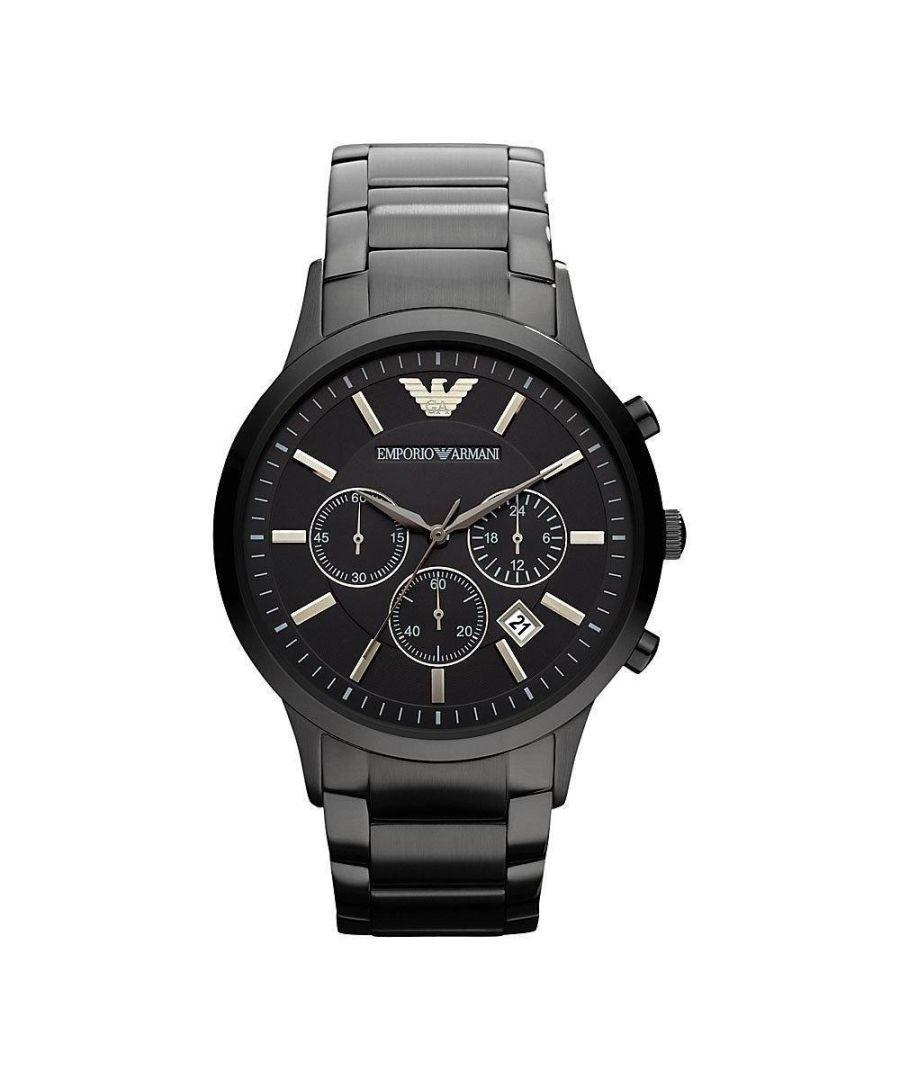 Image for Emporio Armani Mens' Chronograph Watch AR2454