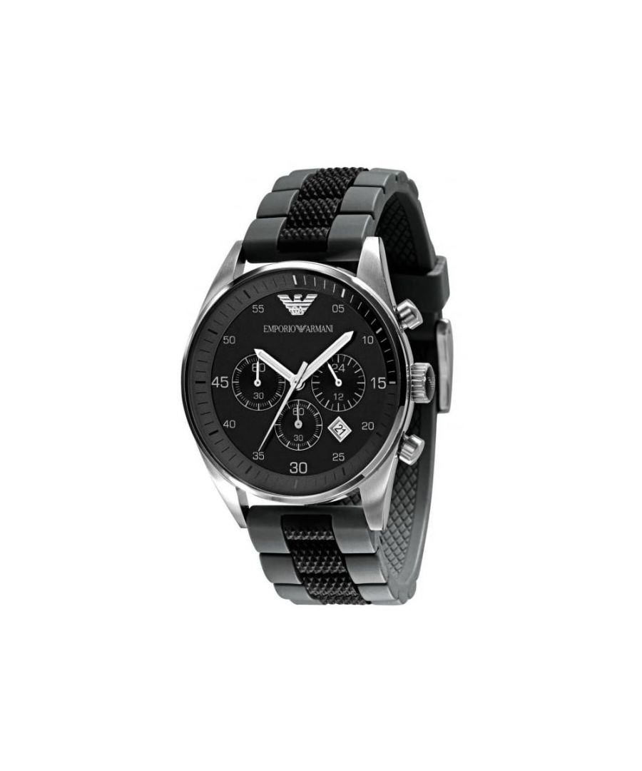 Image for Emporio Armani Mens' Chronograph Watch AR5866