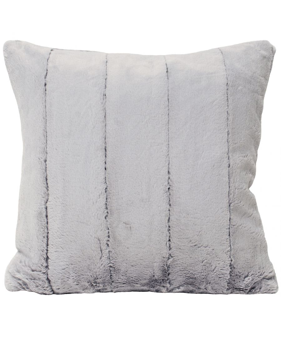 Image for Empress 55X55 Poly Cushion Grey