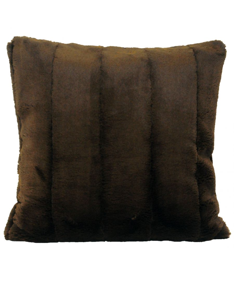 Image for Empress 55X55 Poly Cushion Choc