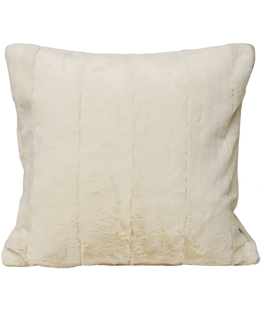 Image for Empress 55X55 Poly Cushion Cream