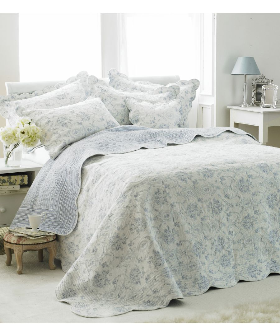 Image for Etoille King Bedspread Blue