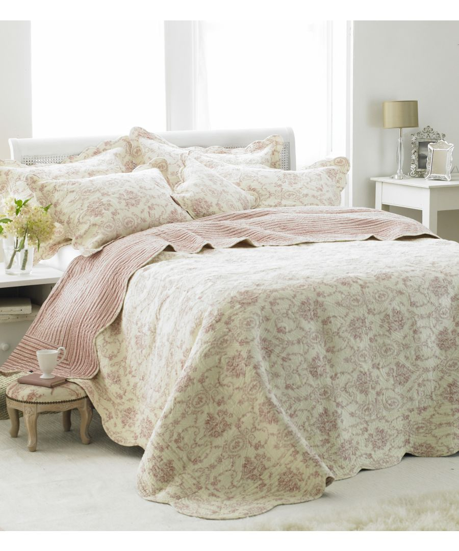 Image for Etoille King Bedspread Pink