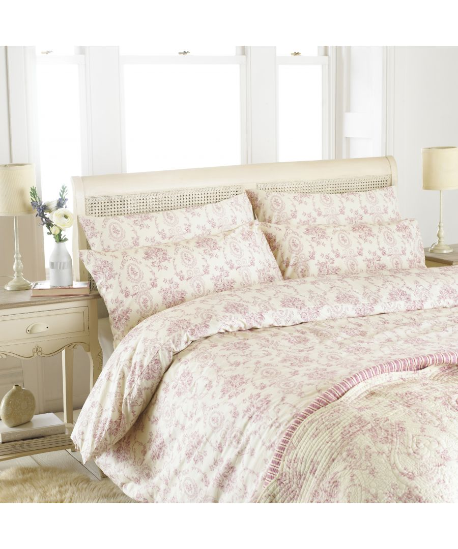 Image for Etoille Single Duvet Set Pink