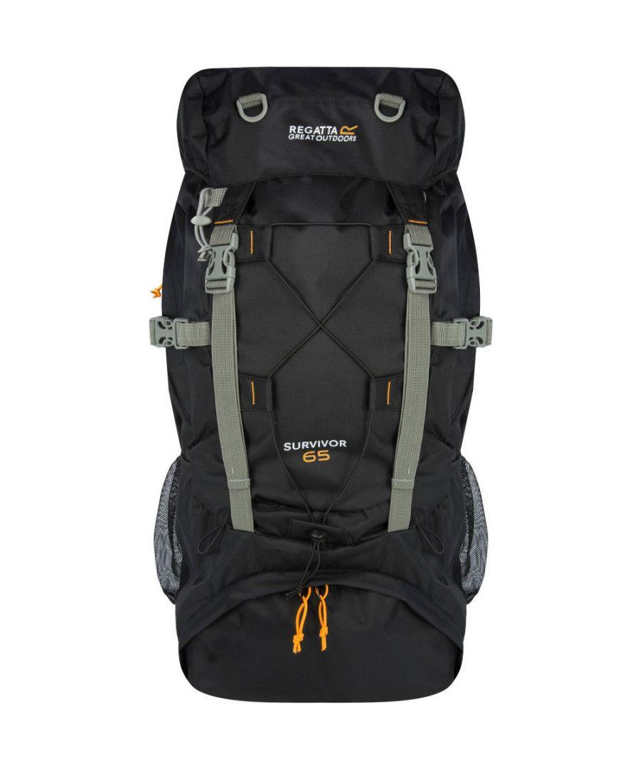 Image for Regatta Survivor III 65L Walking / Hiking Hardwearing Rucksack Bag