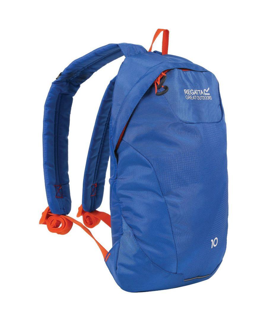 Image for Regatta Mens Marler 10L Hardwearing Reflective Padded Backpack Bag