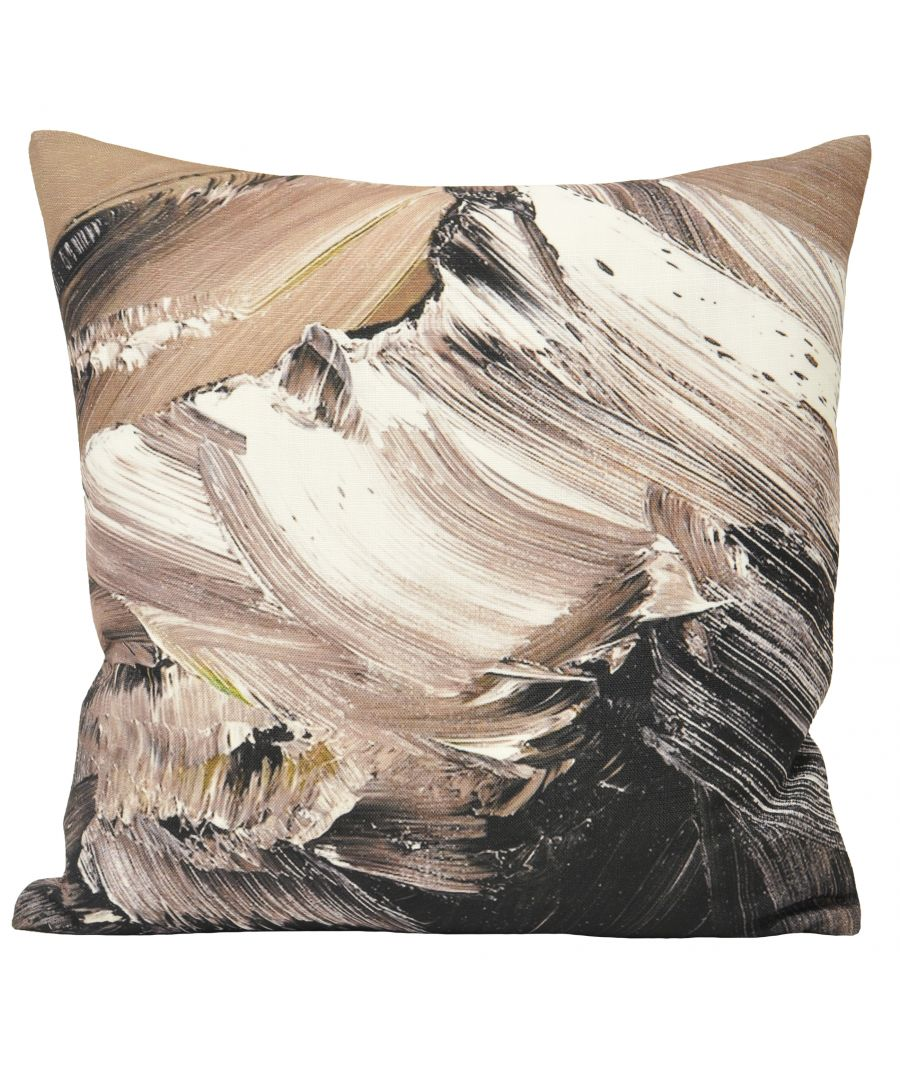 Image for Everest 45X45 Poly Cushion Charcoal