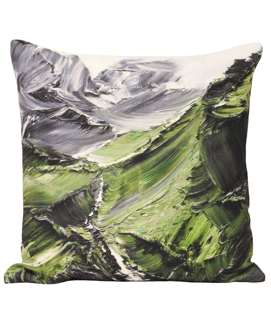 Image for Everest 45X45 Poly Cushion Green