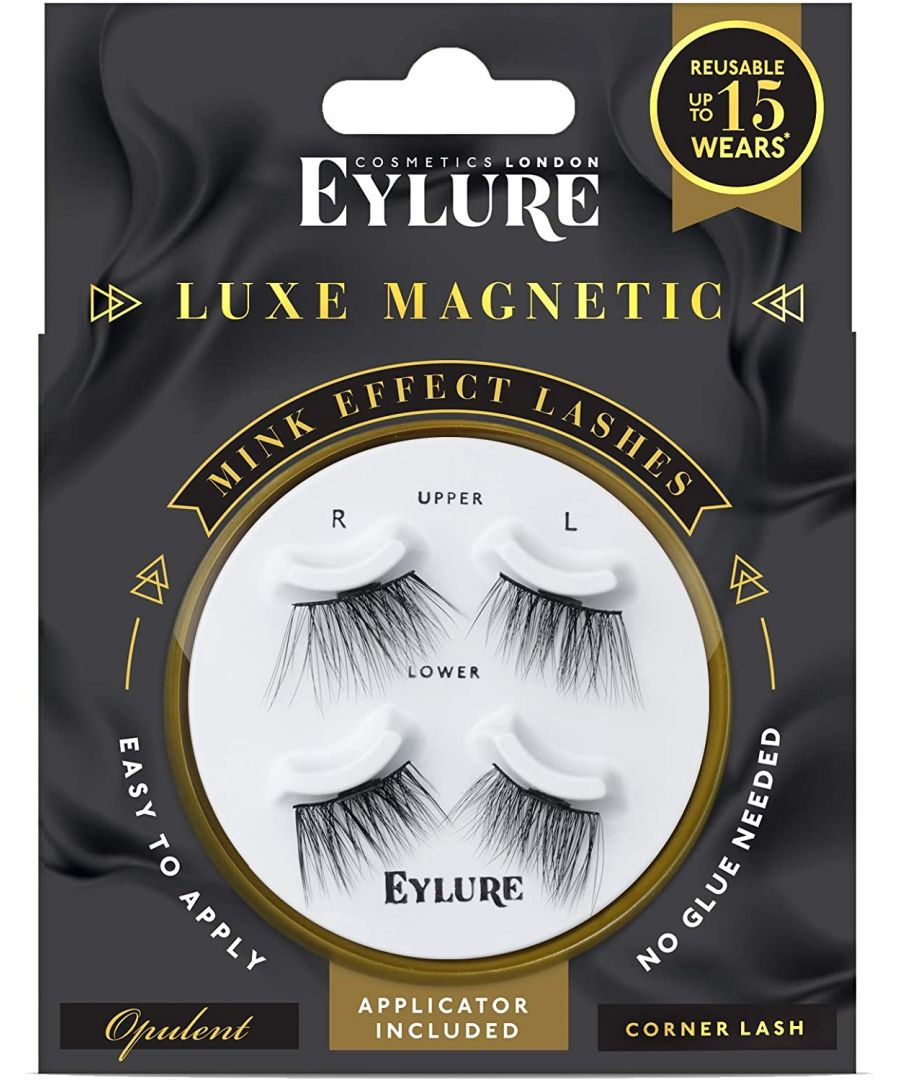 Image for Eylure Luxe Magnetic Mink Effect Lashes - Opulent Effect