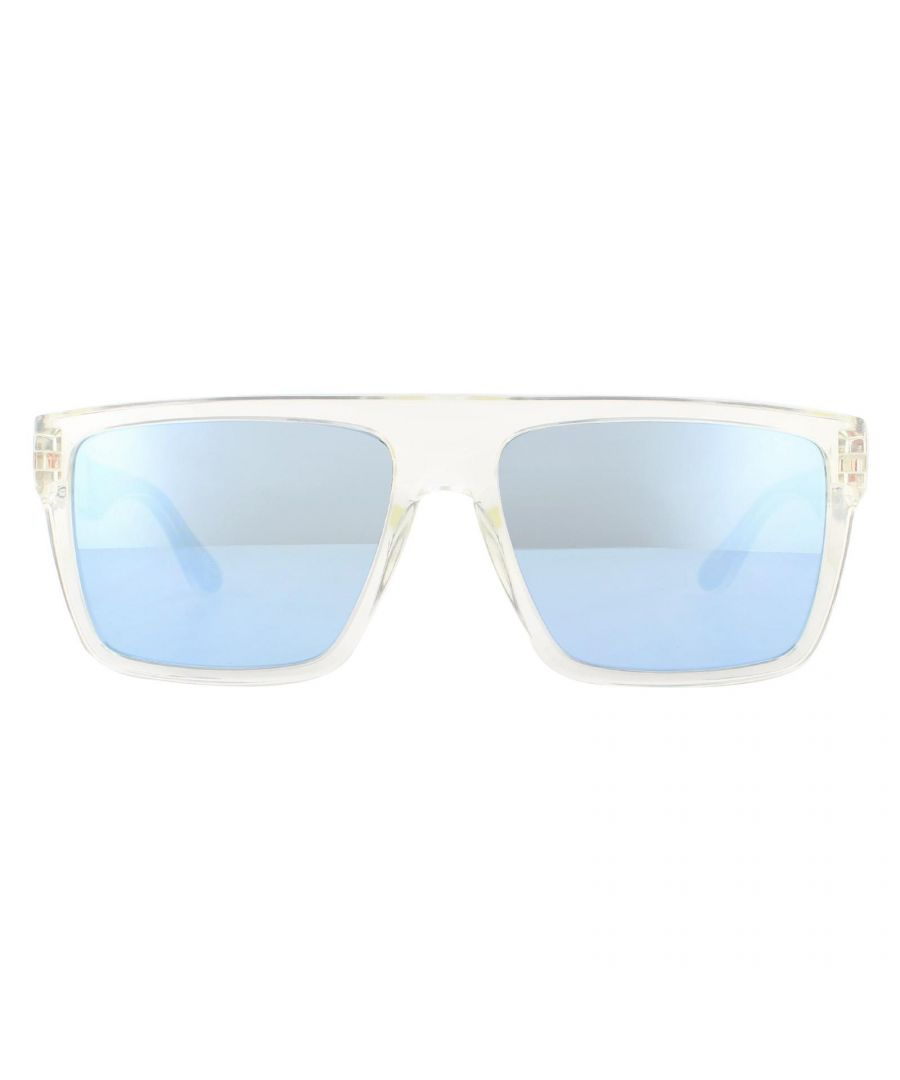 Image for Tommy Hilfiger Sunglasses Th1605/S Rhb 3J Crystal Azure Mirror